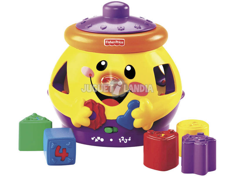Galleta Sorpresa Fisher Price Aprendizaje Mattel H8184