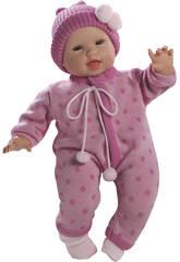 Muñeco Bebé Glotón Niña Savanahh 45 cm.