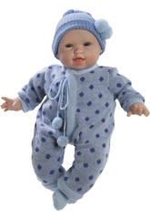 Muñeco Bebé Glotón Niño Cameron 45 cm.