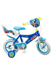 Bicicleta Buscando a Dory 12 Sillita