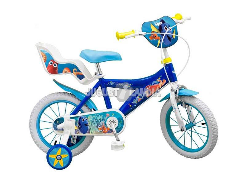Bicicleta Buscando a Dory 14 Con Sillita