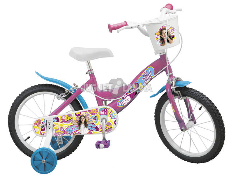 Bicicleta Soy Luna 16 Con Cesta