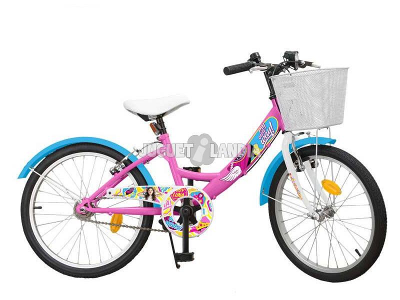 Bicicleta Soy Luna 20 Con Cesta