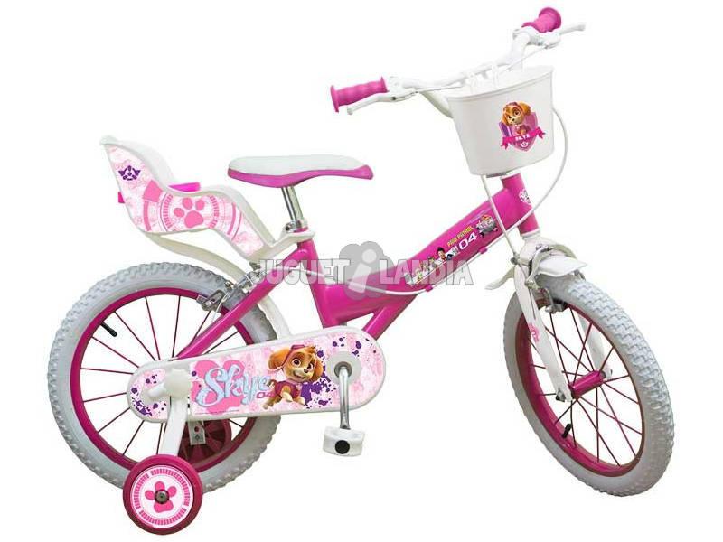 Bicicleta Paw Patrol Skye 16