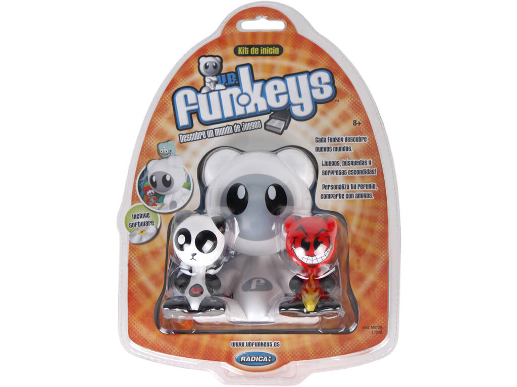 Funkeys Kit De Inicio. Mattel M0729