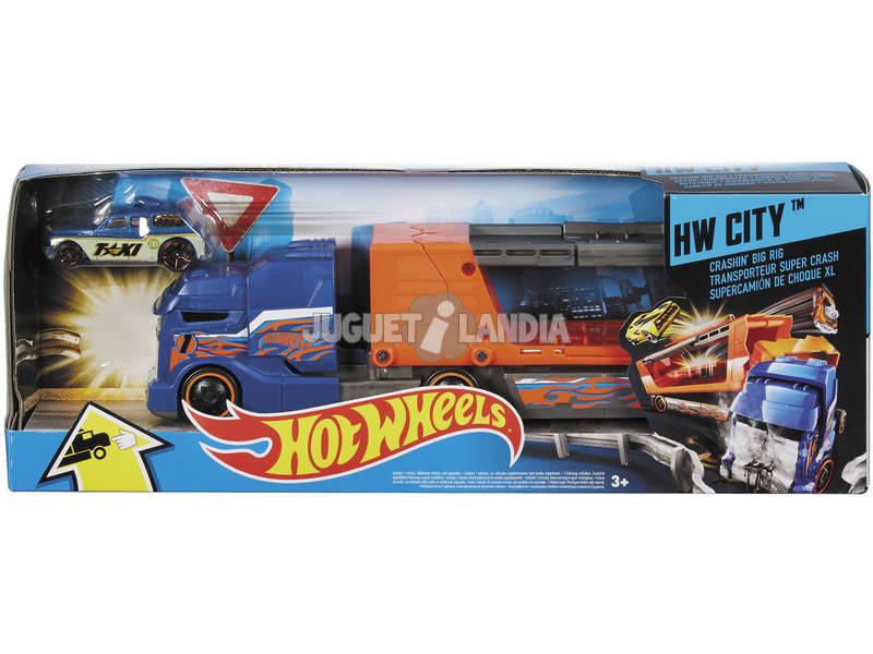 Hot Wheels Supercamiones De Choque