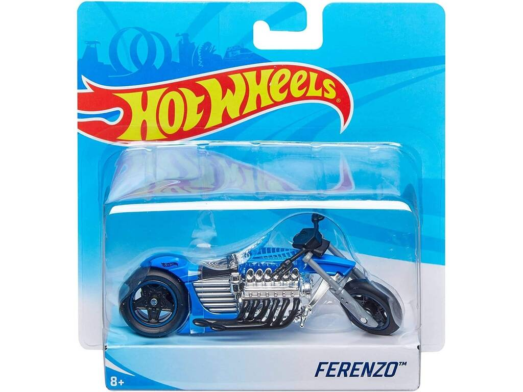 Hot Wheels Motas Street Power. Mattel X4221