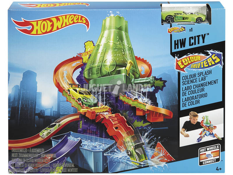 Hot Wheels Laboratorio de Color