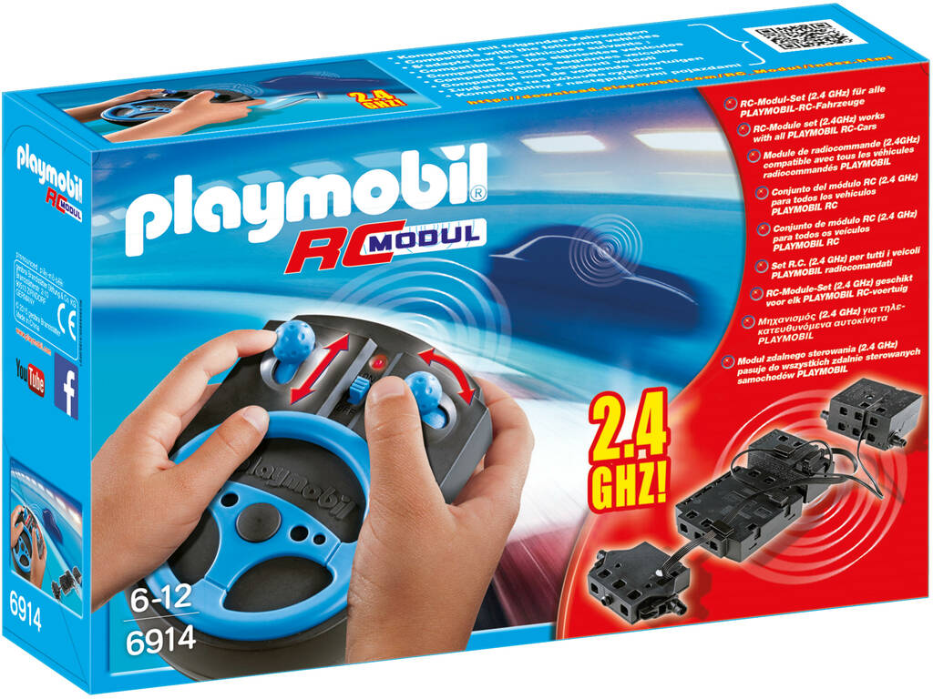 Playmobil Modulo Radio Control Plus 6914