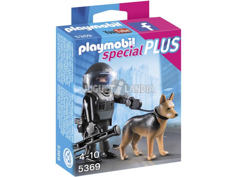Playmobil Unità Cinofila Squadra Speciale