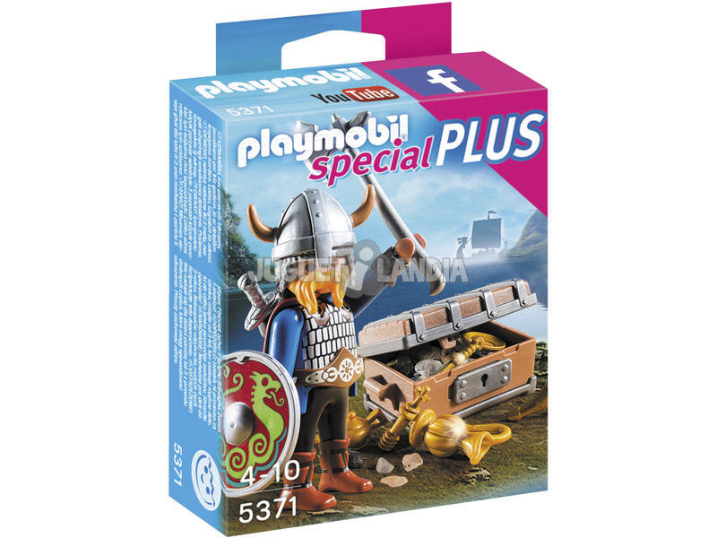 Playmobil Vikingo con Tesoro
