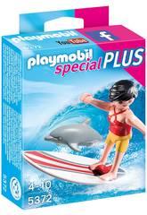 Playmobil Surfista con Tabla de Surf 5372
