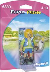 Playmobil Cuidadora con Cacatúa