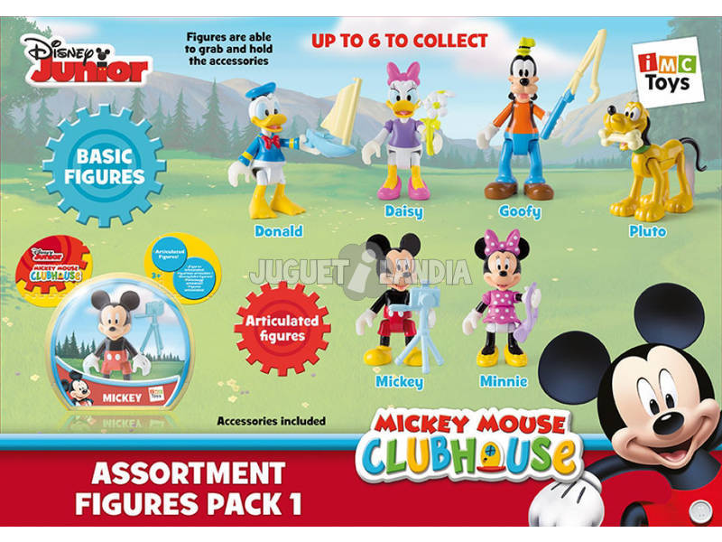 Mickey Mouse Figuras Pack 5