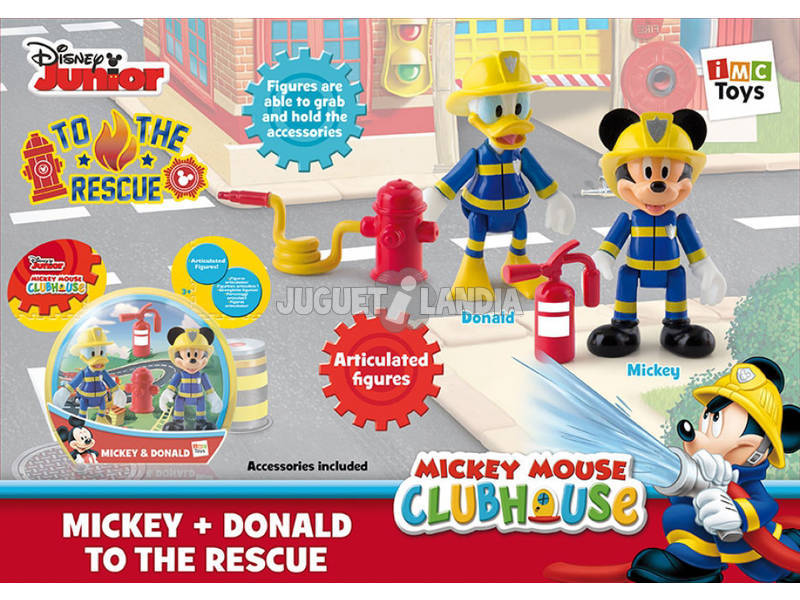 Mickey Mouse Pack 2 Mickey y Donald al Rescate