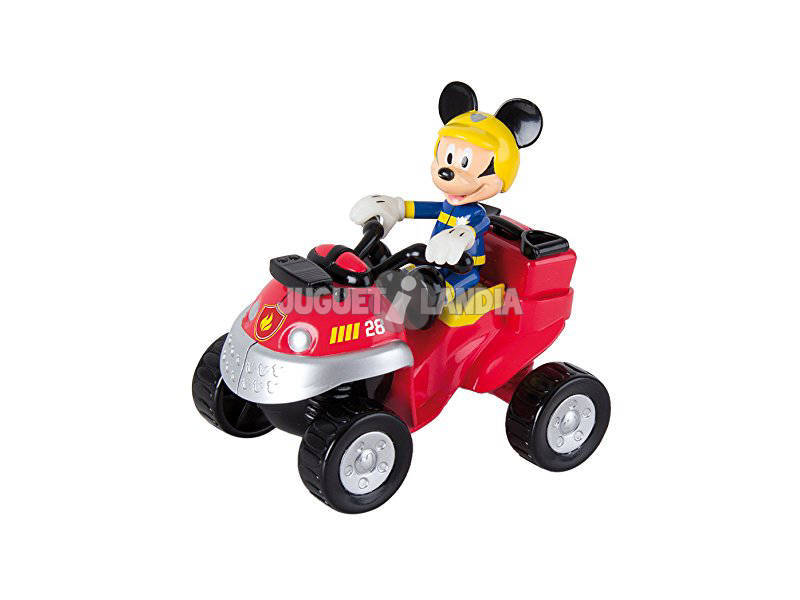 IMC Toys-Mickey Mouse Emergency FIre Quad