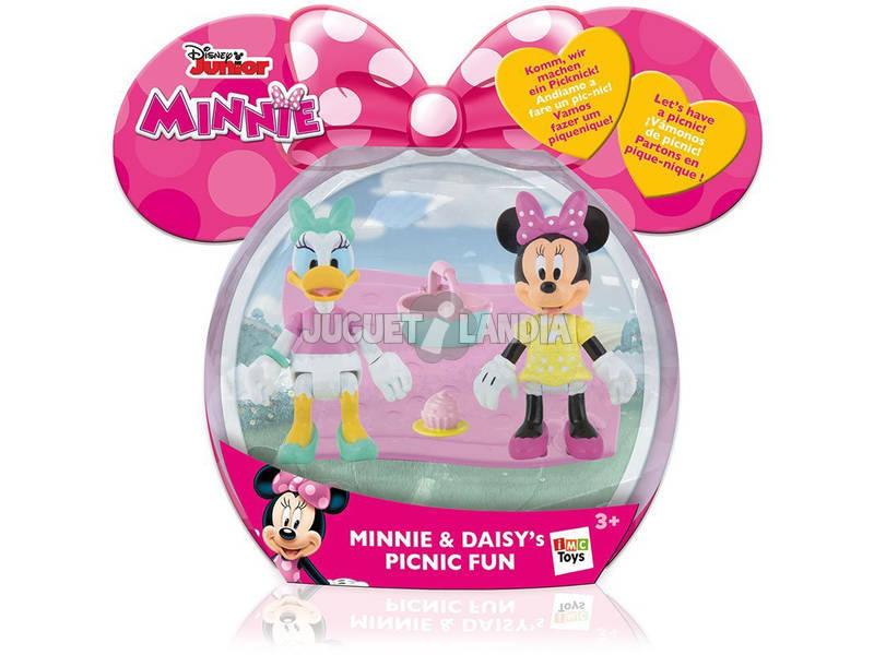 Minnie y Daisy Picnic Divertido