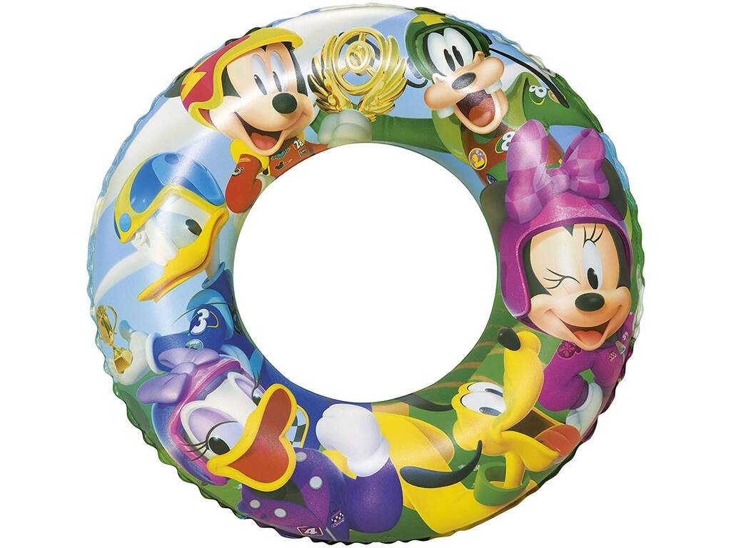 Flotador Hinchable Mickey Mouse Clubhouse 56 Cm Bestway 91004B
