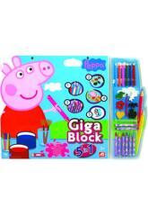 Giga Block Peppa Pig 5 En 1