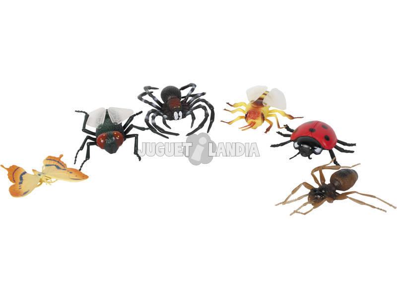Répteis e Insectos 6 Peças