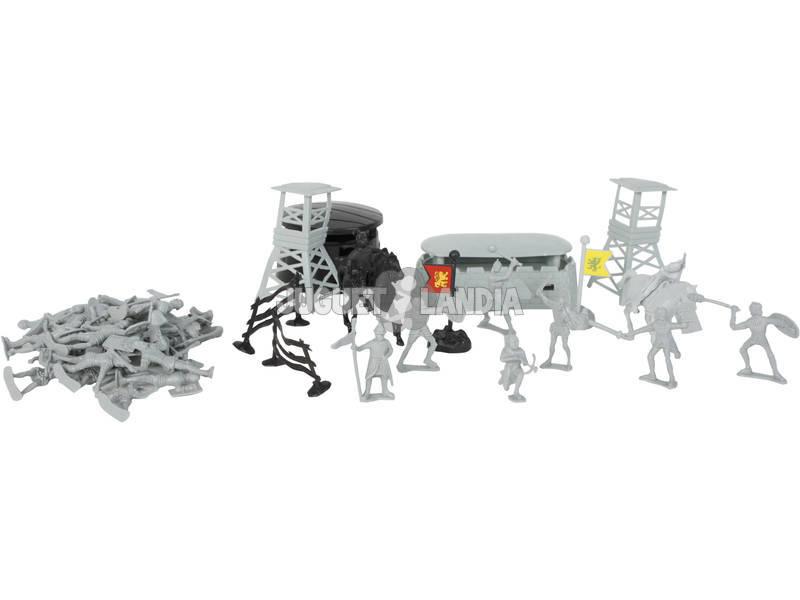 Caballeros Figuras y Accesorios 39 piezas