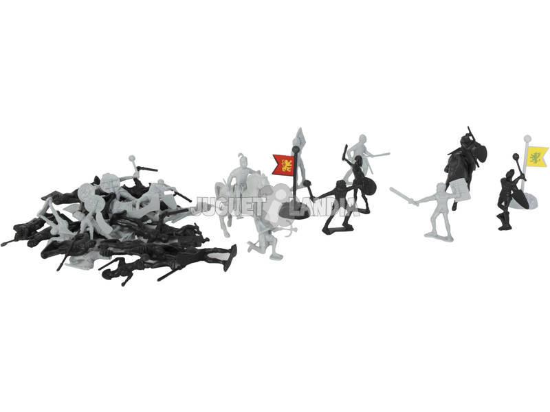 Caballeros Figuras y Accesorios 32 piezas