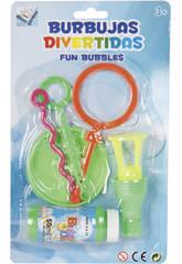 Burbujas Divertidas con Accesorios