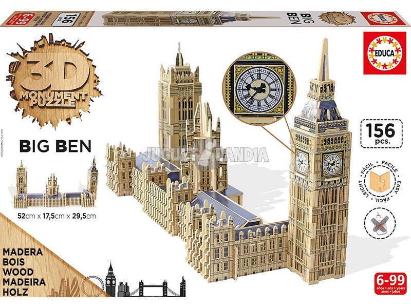Puzzle 3D Monument Parlamento e Big Ben
