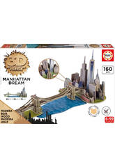 Puzzle 3D Monument Ponte De Brooklyn