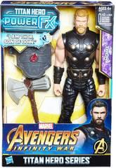 Avengers Thor Figura 30 cm. Y Mochila FX Hasbro E0616