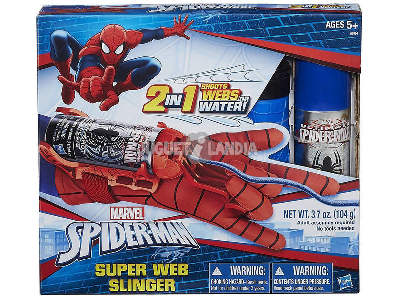 Spiderman Súper Lanza Redes Hasbro B9764