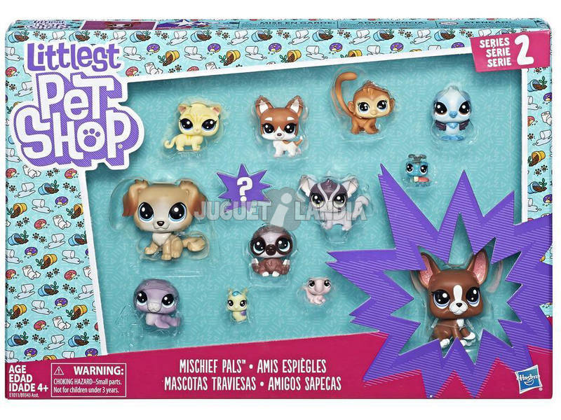 Little Pet Shop Pet Pack 13 Figuras Hasbro B9343