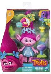 Trolls de penteados engraçados com bebê Hasbro E0144