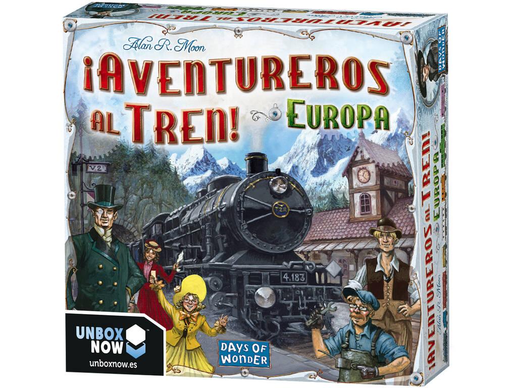 Aventureiros para o comboio! Europa Asmodee 7282