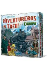 Les aventuriers du train! Europe Asmodee 7282