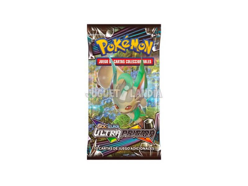Pokémon Jogo de Cartas Colecionáveis Sol e Lua Ultraprisma Sobre 10 Cartas Asmodee 35935
