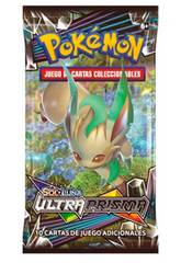 imagen Pokémon Juego de Cartas Coleccionables Sol y Luna Ultraprisma Sobre 10 Cartas Asmodee 35935