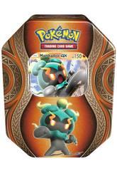 Pokemon Juego de Cartas Coleccionables Caja Metálica Asmodee 35847