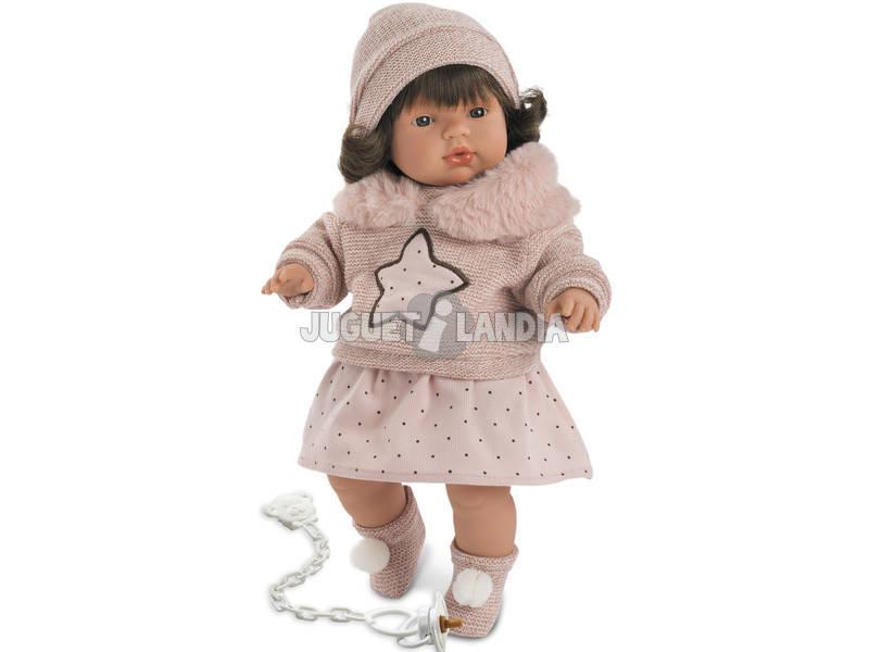Boneca Lola Chorona 38 cm Llorens 38550