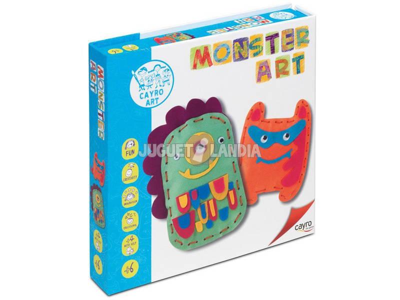 Juego Manualidades Monster Art Cayro 804