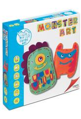 Jeu de Travaux Manuels Monster Art Cayro 804