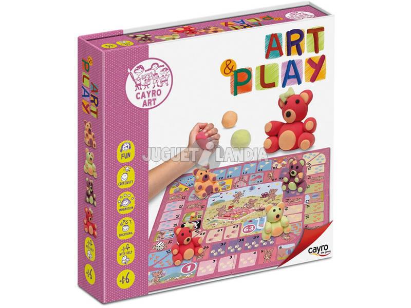 Trabalhos Manuais Art Play Jogo da Glória Ursos Cayro 816