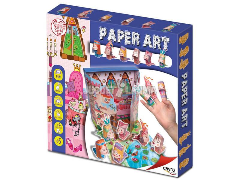 Juego Manualidades Paper Art Princess Cayro 825