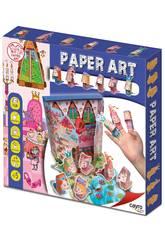 imagen Juego Manualidades Paper Art Princess Cayro 825