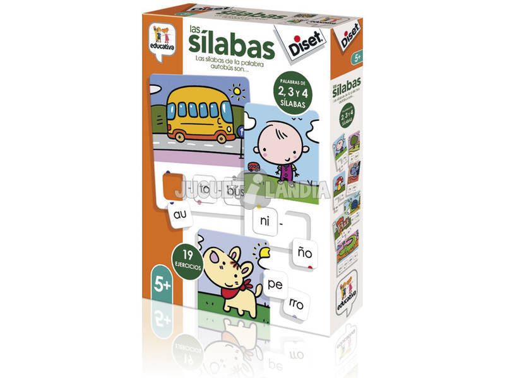 Las Sílabas Diset 68962