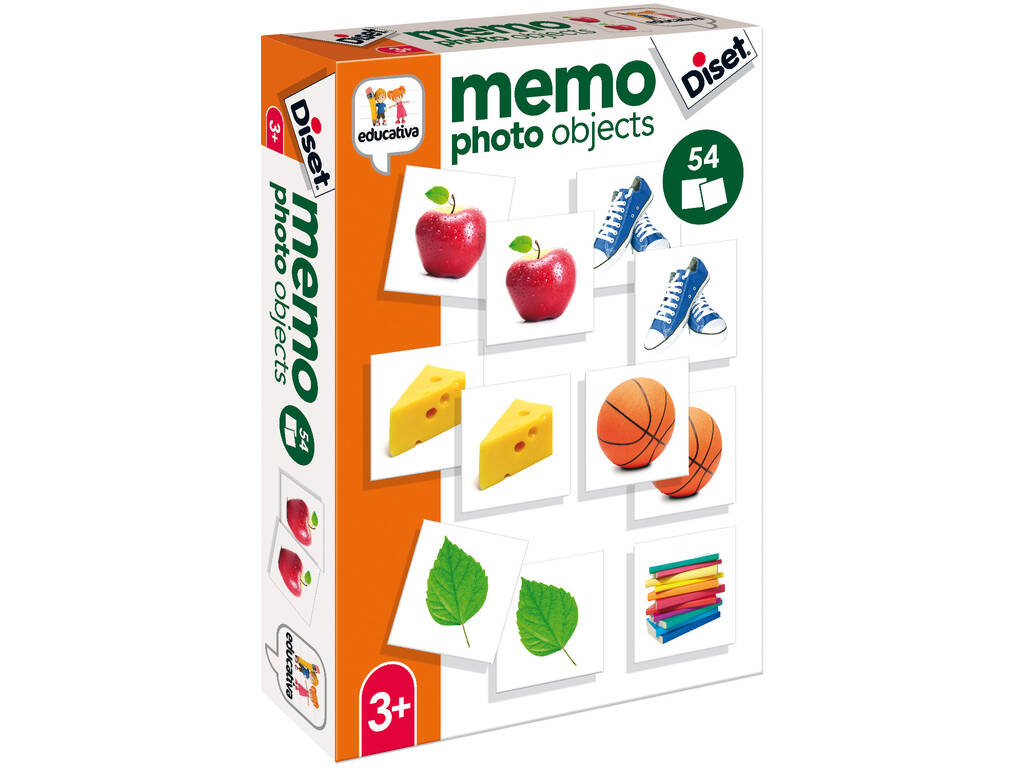 Memo Photo Objects Diset 68946