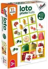 imagen Loto Photo Fruits Diset 68943