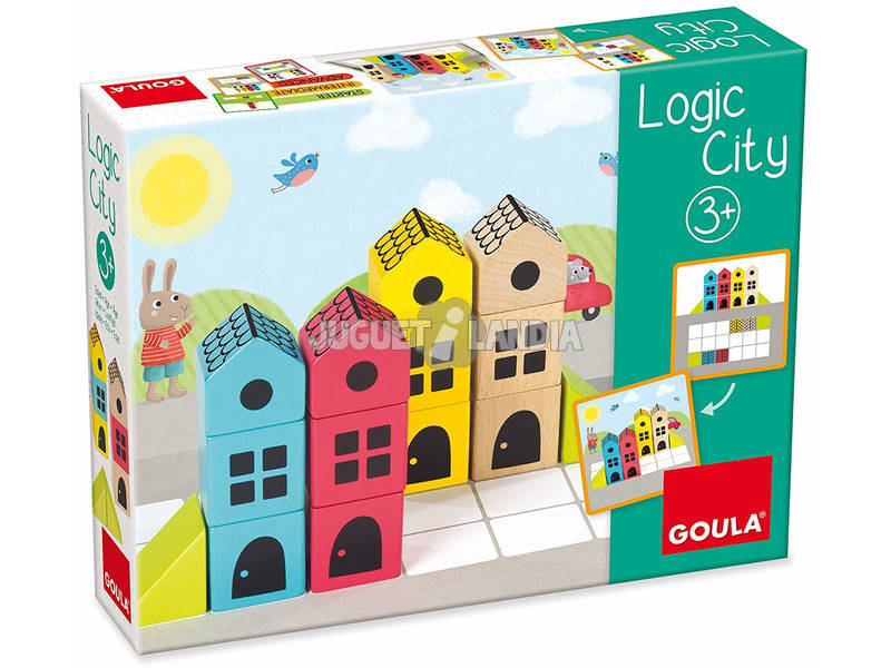 Logic City de Madeira Goula 50200