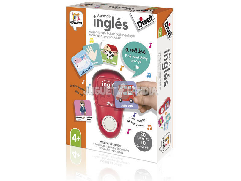 Aprende Inglés Diset 62322