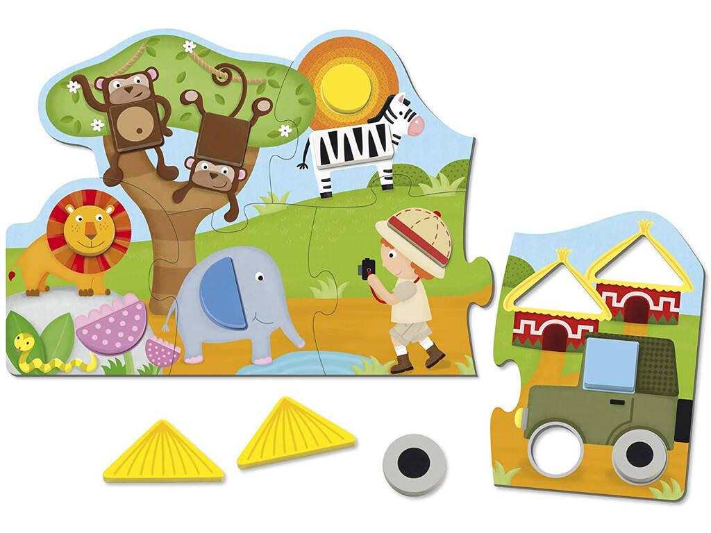 Puzzle Shapes Goula 53439
